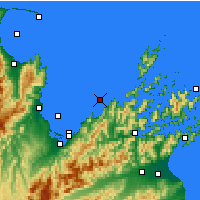 Nearby Forecast Locations - Whangamoa - карта