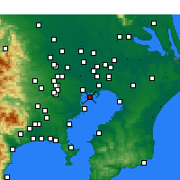 Nearby Forecast Locations - Кото - карта