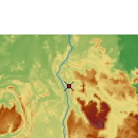 Nearby Forecast Locations - Canaima Аэропорт - карта