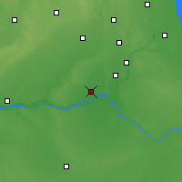 Nearby Forecast Locations - Morris - карта