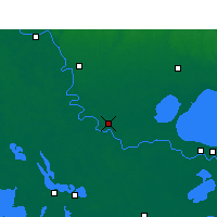 Nearby Forecast Locations - Gonzales - карта