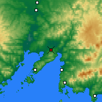 Nearby Forecast Locations - Артём - карта