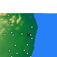 Nearby Forecast Locations - Avadi - карта