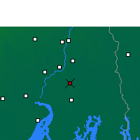 Nearby Forecast Locations - Rajpur Sonarpur - карта