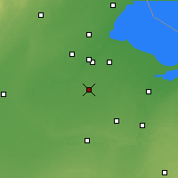 Nearby Forecast Locations - Bowling Green - карта