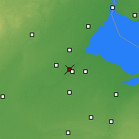 Nearby Forecast Locations - Maumee - карта