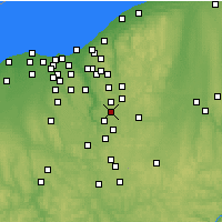 Nearby Forecast Locations - Stow - карта
