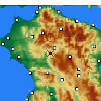 Nearby Forecast Locations - Tropaia - карта