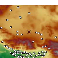 Nearby Forecast Locations - El Mirage - карта