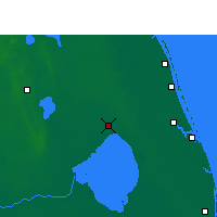 Nearby Forecast Locations - Okeechobee - карта