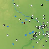 Nearby Forecast Locations - Баффало - карта
