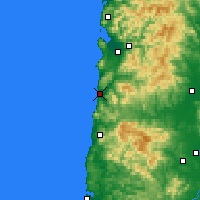 Nearby Forecast Locations - Pacific City - карта