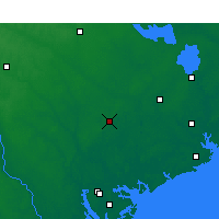 Nearby Forecast Locations - Walterboro - карта