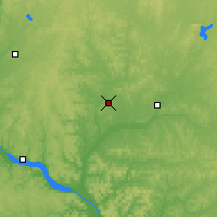 Nearby Forecast Locations - Menomonie - карта