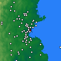 Nearby Forecast Locations - Revere - карта