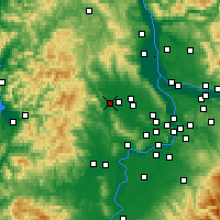 Nearby Forecast Locations - Forest Grove - карта