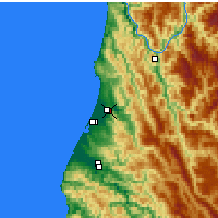 Nearby Forecast Locations - Arcata - карта