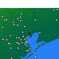 Nearby Forecast Locations - Baytown - карта