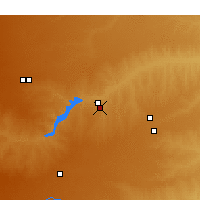 Nearby Forecast Locations - Borger - карта