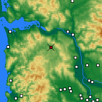 Nearby Forecast Locations - Clatskanie - карта