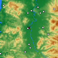 Nearby Forecast Locations - Corvallis - карта