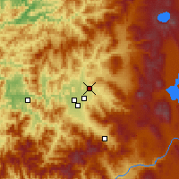Nearby Forecast Locations - Eagle Point - карта