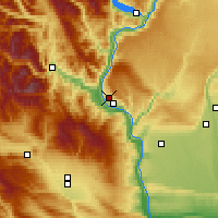 Nearby Forecast Locations - East Wenatchee - карта