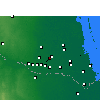 Nearby Forecast Locations - Elsa - карта