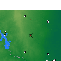 Nearby Forecast Locations - Hebbronville - карта
