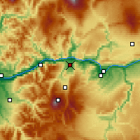 Nearby Forecast Locations - Hood River - карта