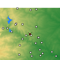 Nearby Forecast Locations - Leander - карта