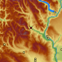 Nearby Forecast Locations - Leavenworth - карта