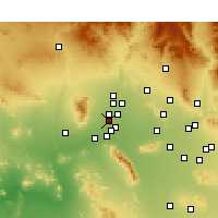 Nearby Forecast Locations - Litchfield Park - карта