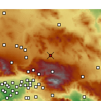 Nearby Forecast Locations - Lucerne Valley - карта