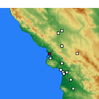 Nearby Forecast Locations - Morro Bay - карта