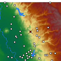 Nearby Forecast Locations - Penn Valley - карта
