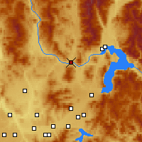Nearby Forecast Locations - Priest River - карта
