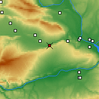 Nearby Forecast Locations - Prosser - карта