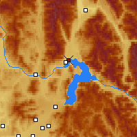 Nearby Forecast Locations - Clark Fork - карта