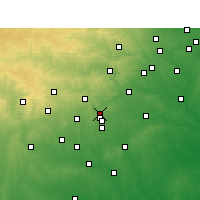 Nearby Forecast Locations - Schertz - карта