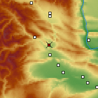 Nearby Forecast Locations - Selah - карта