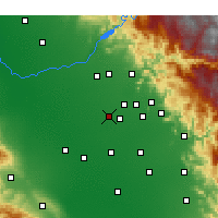 Nearby Forecast Locations - Selma - карта