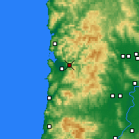 Nearby Forecast Locations - Tillamook - карта
