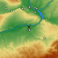Nearby Forecast Locations - Umatilla - карта