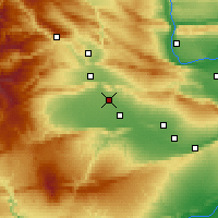 Nearby Forecast Locations - Wapato - карта