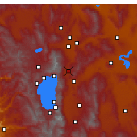 Nearby Forecast Locations - Washoe Valley - карта