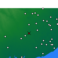 Nearby Forecast Locations - Wharton - карта