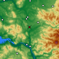Nearby Forecast Locations - Winlock - карта