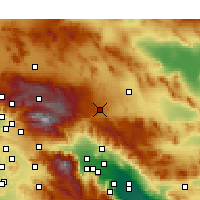Nearby Forecast Locations - Yucca Valley - карта